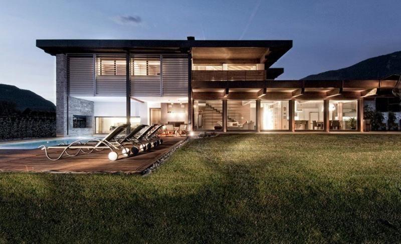 Casa in legno modello casa clima laives di sudtirolhaus for Case prefabbricate ecosostenibili