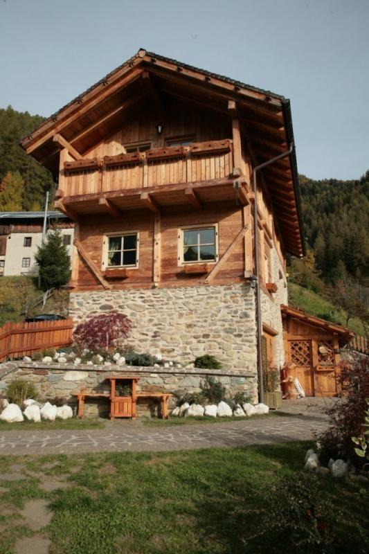 Casa in legno modello casa tirolese di fanti legnami for Costruttore di case virtuali