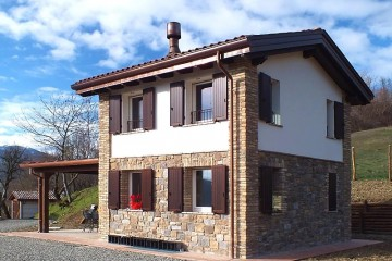 Modelli di case prefabbricati in legno for Casa in legno tradizionale