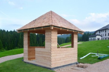 Chioschi e Gazebi in Legno: Casetta Golf Club -Asiago