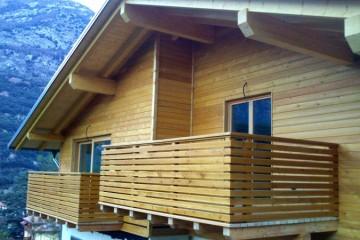 Sopraelevazioni in Legno: Casa- Padergnone STP