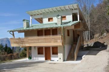 Sopraelevazioni in Legno:  Casa- Folgaria STP