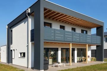 Realizzazione Casa in Legno Monticello Conte Otto 02 di Raro Haus