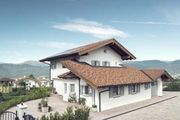Modello Casa in Legno Dusini di Vario Haus