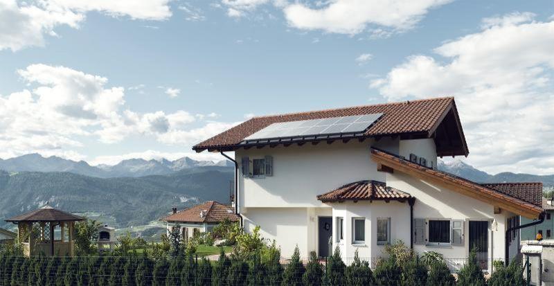 Casa in legno modello dusini di vario haus for Haus case in legno