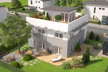 Modello Casa in Legno Sky View di Vario Haus