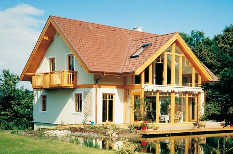 Case in legno Vario Haus  Family V Emotion