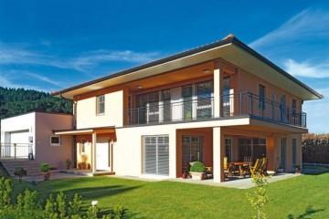 Modello Casa in Legno New Design IV di Vario Haus