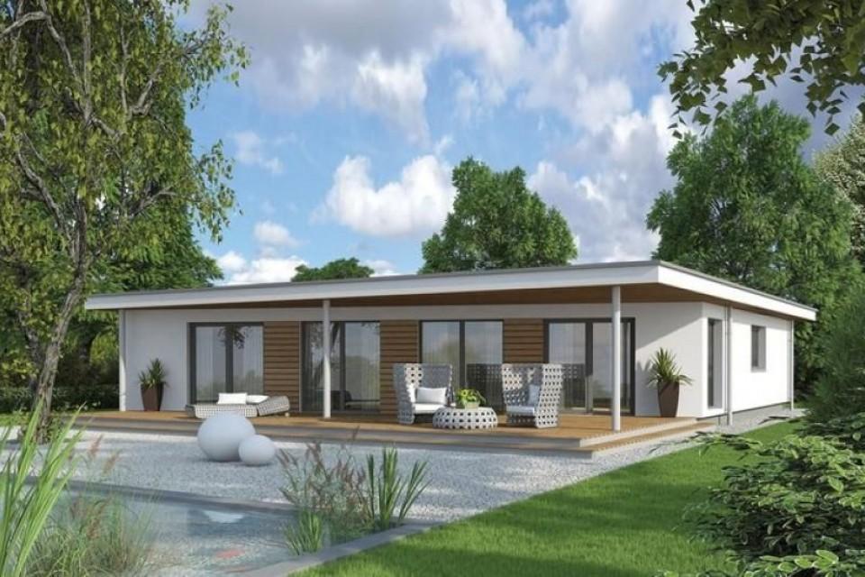 Casa in Legno in stile Moderno: Bungalow S 117
