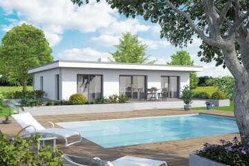 Modello Casa in Legno Bungalow New Design V di Vario Haus