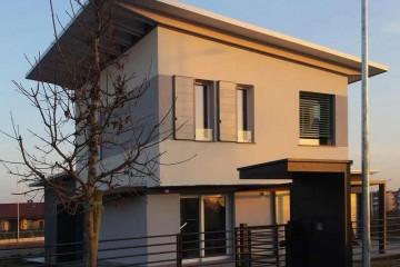Case in Legno e Villette in Legno: Passivhaus Bolgare Marlegno