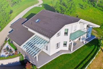 Realizzazione Casa in Legno Casa Diego - Appennino Bolognese di Vibrobloc S.p.A.
