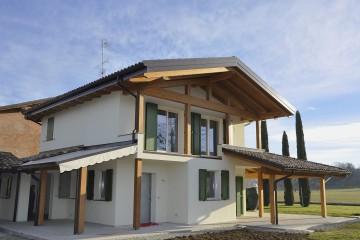 Realizzazione Casa in Legno Casa Aurora di Vibrobloc S.p.A.