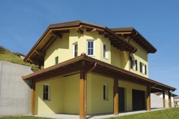 Realizzazione Casa in Legno Casa Claudia di Vibrobloc S.p.A.