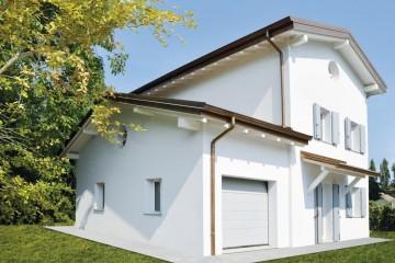 Realizzazione Casa in Legno Casa Giulia di Vibrobloc S.p.A.