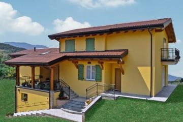 Realizzazione Casa in Legno Casa Antonio di Vibrobloc S.p.A.