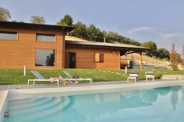 Realizzazione Casa in Legno Acetaia Silvio di Vibrobloc S.p.A.
