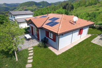 Realizzazione Casa in Legno Casa Luna di Vibrobloc S.p.A.