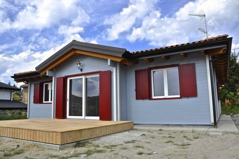 Case in legno Vibrobloc S.p.A. Casa Luna