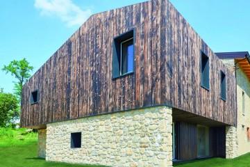 Realizzazione Casa in Legno Ca' Inua di Vibrobloc S.p.A.