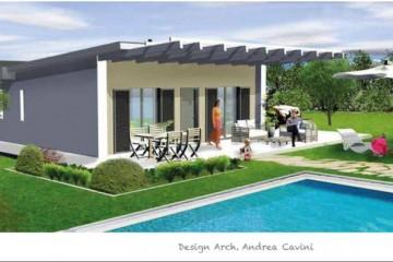 Realizzazione Casa in Legno Solutio 80 di Gruppo Forest