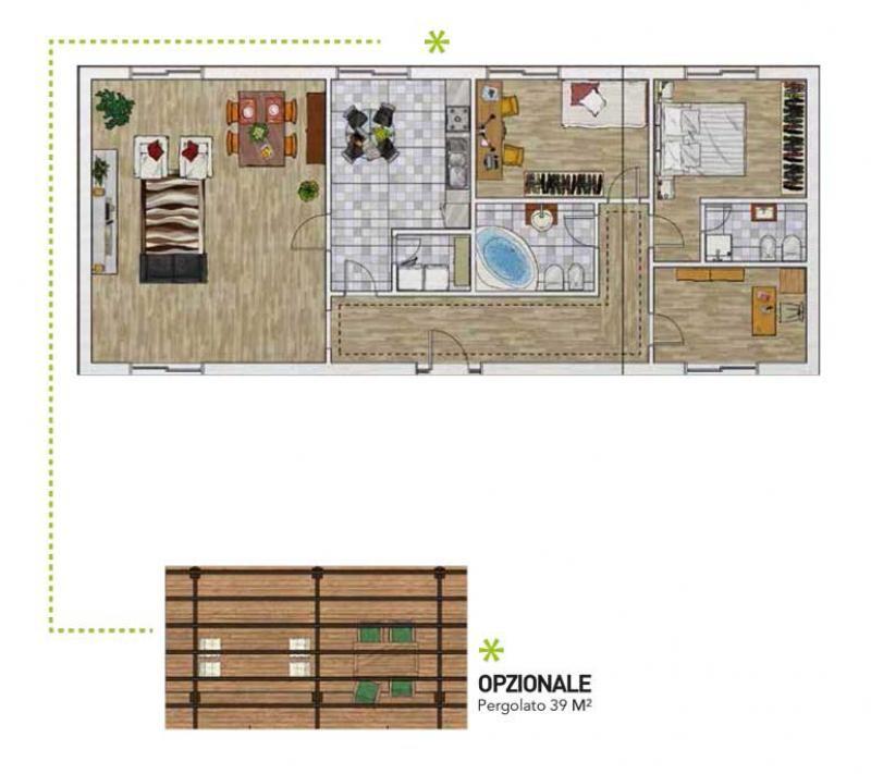 Case in legno Gruppo Forest Solutio 110 Family