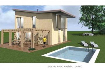 Realizzazione Casa in Legno Solutio 140 di Gruppo Forest