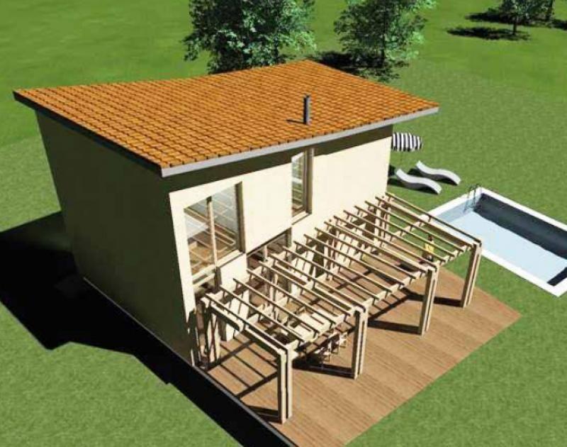 Case in legno Gruppo Forest Solutio 140
