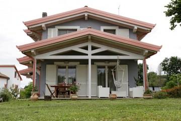 Realizzazione Casa in Legno Vasanello di Gruppo Forest