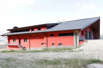 Realizzazione Tetto in Legno Roccaraso di Gruppo Forest