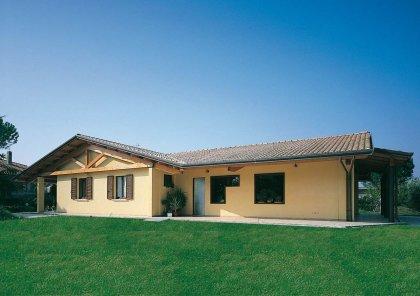 Casa In Legno Modello Casa Ad Un Piano Lazio Di Costantini Legno L A Cost