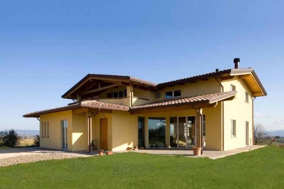 Casa in Legno in stile Classico: Umbria