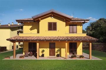 Realizzazione Casa in Legno L'Aquila di COSTANTINI LEGNO - L.A. COST