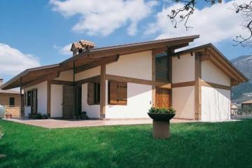 Realizzazione Casa in Legno Teramo di COSTANTINI LEGNO - L.A. COST