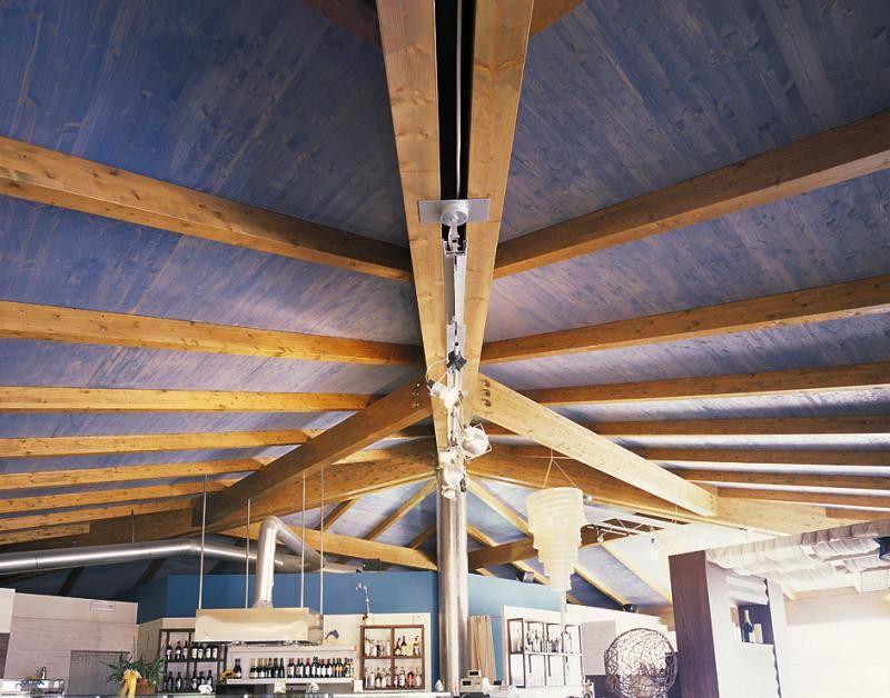 Strutture ricettive (hotel, villaggi) in legno COSTANTINI LEGNO - L.A. COST Stabilimento Balneare