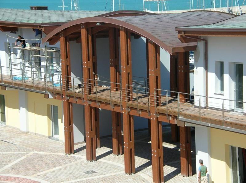 Strutture ricettive (hotel, villaggi) in legno COSTANTINI LEGNO - L.A. COST Marina Dorica
