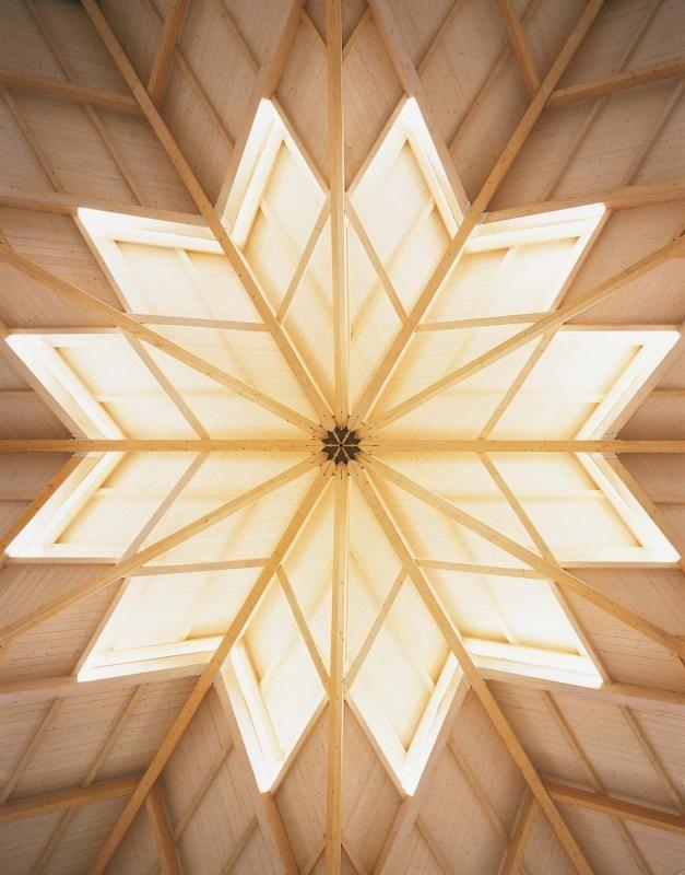 Edifici Pubblici (scuole, chiese) in legno COSTANTINI LEGNO - L.A. COST Santa Maria della Pace