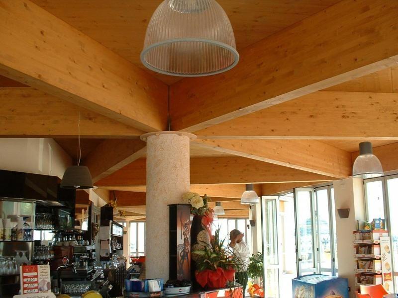Strutture ricettive (hotel, villaggi) in legno COSTANTINI LEGNO - L.A. COST Stabilimento Balneare Abruzzo