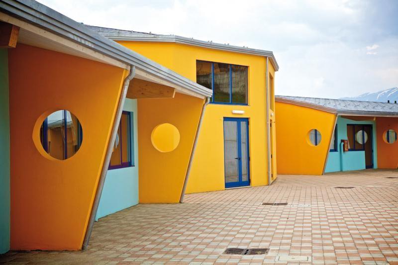 Edifici Pubblici (scuole, chiese) in legno COSTANTINI LEGNO - L.A. COST Scuola di Roio