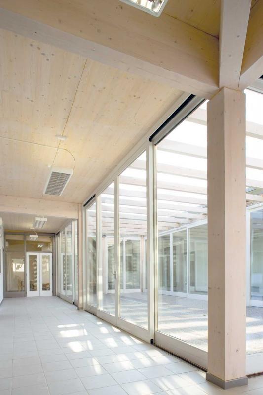 Edifici Pubblici (scuole, chiese) in legno COSTANTINI LEGNO - L.A. COST Asili in legno – Roma