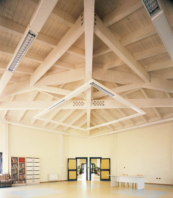 Edifici Pubblici (scuole, chiese) in legno COSTANTINI LEGNO - L.A. COST Scuola di Magliano