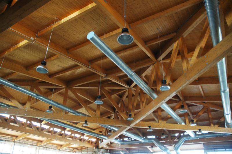 Strutture ricettive (hotel, villaggi) in legno COSTANTINI LEGNO - L.A. COST  Piscina coperta – Assemini