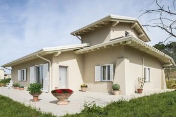 Realizzazione Casa in Legno Casa CC di Bautiz