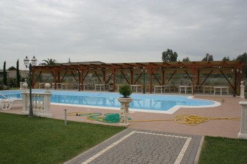Modello Casa in Legno Sala eventi - Aprilia (LT) di Spazio Legno Lamellare