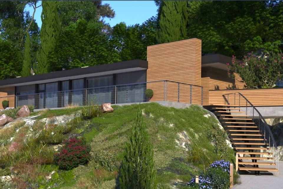 Casa in Legno in stile Moderno: HOOOME
