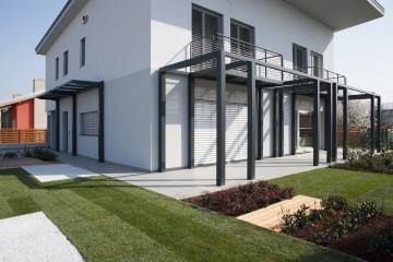 Realizzazione Casa in Legno Casa Benessere di HOOOME