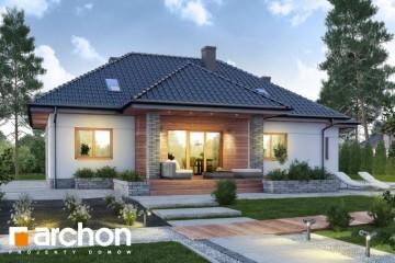 Modello Casa in Legno Casa sotto Achebia 2 di DOMUS Green
