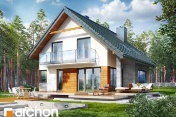 Modello Casa in Legno Casa Aurora di DOMUS Green