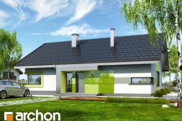 Modello Casa in Legno Casa sotto Sorbo 8 (N) di DOMUS Green