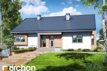 Modello Casa in Legno Casa sotto Sorbo 16 di DOMUS Green